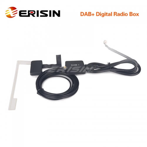 Erisin ES355 USB DAB+ Digital Radio Box with Amplified Antenna USB Port for ES6590KD/ES6903KD