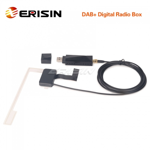 Erisin ES353 USB Digital Radio Car DAB+ box for Android Stereos