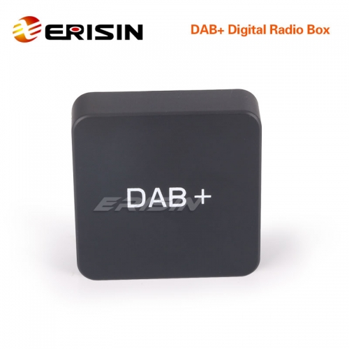 Erisin ES354 DAB+ Digital Radio Box Aerial Amplified Antenna for Android 8.0/9.0/10.0 Stereos