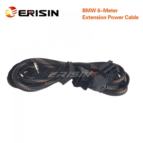 Erisin KD-BMW-6M BMW 6M Extension Cable with 4 connectors