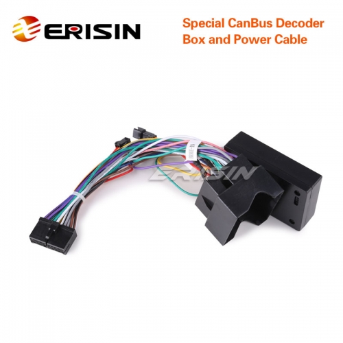Erisin F001-M Special Can-bus Adaptor Decoder for our Ford Car DVD Player for ES6301F