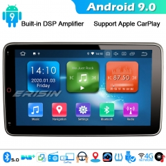 "Erisin ES1123U 10.1"" Rotatable 2Din Car Radio Stereo Android 9.0 DAB+ DSP SatNav CarPlay BT 5.0"
