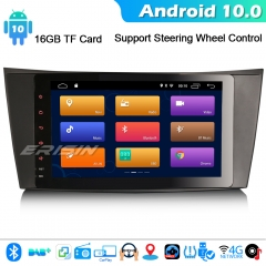 "Erisin ES3181E 9"" Android 10.0 DAB+ GPS Car GPS Stereo CarPlay Mercedes Benz E/CLS/G Class W211 W219 DSP"