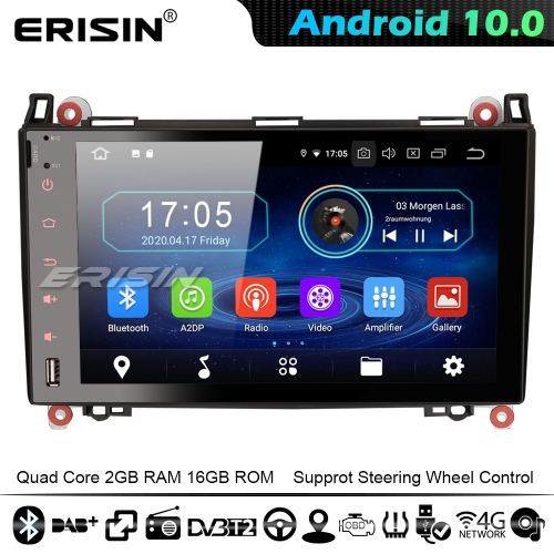 "Erisin ES5992B 9"" Car GPS Stereo Android 10.0 Mercedes Benz A/B Class Sprinter Viano Vito Crafter 4G WiFi Bluetooth CarPlay"